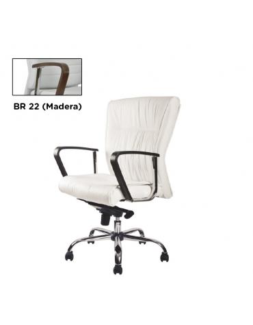 Sillón semiejecutivo de alto nivel modelo BM 1251
