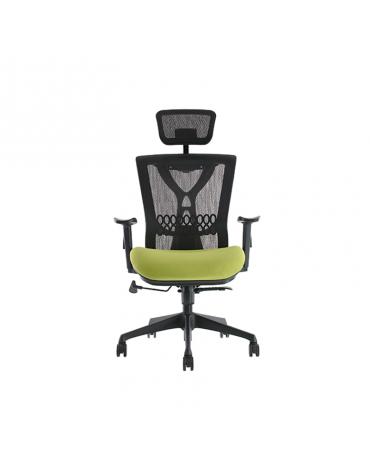 Sillón ejecutivo con respaldo de malla y asiento acoginadomodelo BM 9510