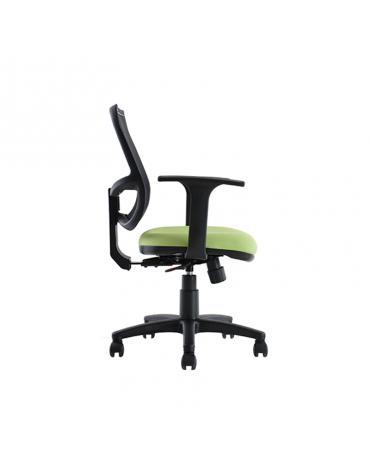 Silla secretarial con respaldo de malla modelo BM 7010